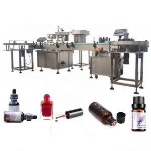 Machine de remplissage de bouteille d'huile essentielle de 3 kilowatts avec l'anti dispositif d'égouttement d'aspiration