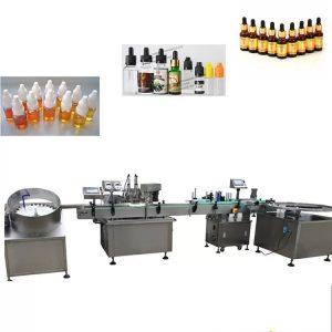 Machine de remplissage liquide automatique en acier inoxydable 304