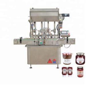 Machine de remplissage de miel en acier inoxydable 304