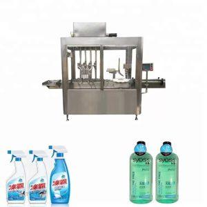 Machine de remplissage et de capsulage de bouteilles en plastique d'acier inoxydable 304
