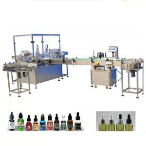 Machine de remplissage d'huile essentielle de 4 buses de remplissage