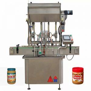 Machines de remplissage de bouteilles de miel à 4 buses