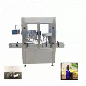 Machine de remplissage de flacon pulvérisateur en aluminium