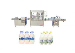 Machine de remplissage et de capsulage liquide automatique pour 250 ml 500 ml