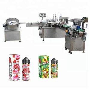 Machine de remplissage de liquide automatique pour 10 ml