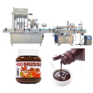 Machine de remplissage automatique de bouteilles de sauce tomate 10 ml