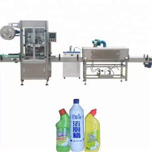 Machine à étiquettes de bouteilles utilisée pour le contrôle de PLC de bouteille ronde