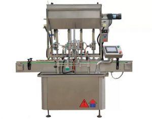 Machine de remplissage de bouteilles de pâte de sauce standard CE