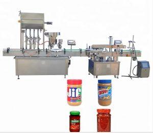 Machine de capsulage de bouteilles d'écran tactile de couleur