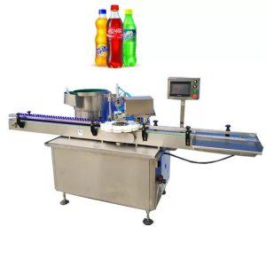 Machine de capsulage de bouteilles à entraînement électrique