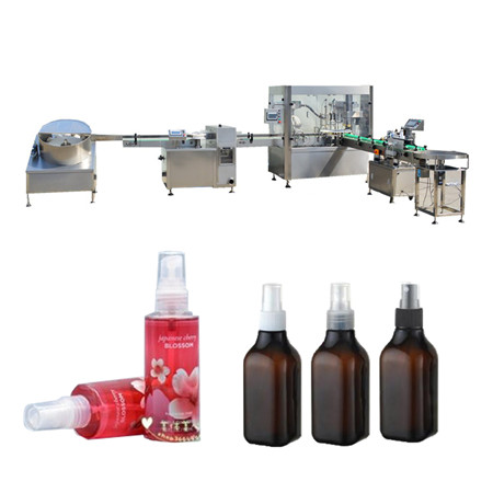 Machine de remplissage d'huile essentielle