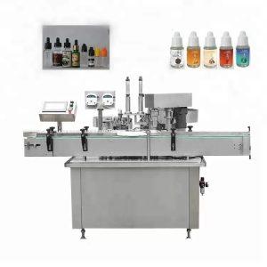 Machine de remplissage d'huile essentielle entièrement automatique 10 ml