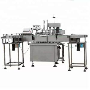Machine de remplissage de parfum entièrement automatique avec pompe péristaltique