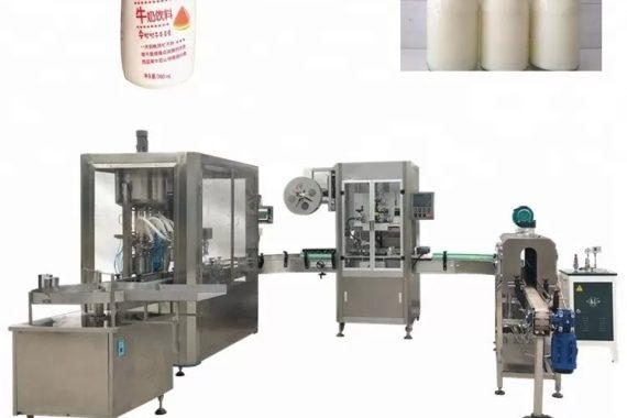 Machine de remplissage liquide automatique de bouteille en verre