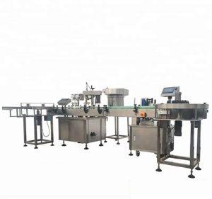 Machine de remplissage et de capsulage automatique de bouteilles de grande capacité