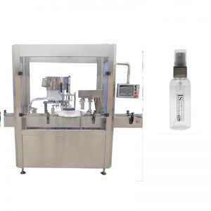 Machine de remplissage de parfum de haute précision