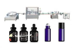 Machine de remplissage d'huile essentielle médicale