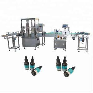 Machine de remplissage d'huile essentielle minimale pour bouteille en verre de 30 ml