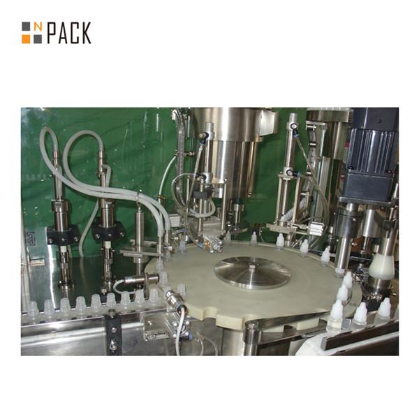 Machine de capsulage de remplissage de bouteilles de jus de vape