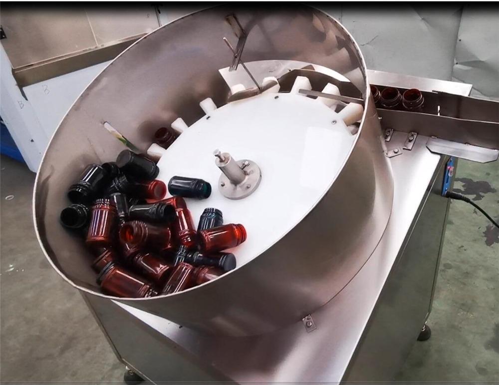 Remplisseur de capsule en bouteille de machine de comptage de pilules à double tête NP-SL60