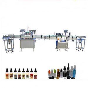Machine de remplissage liquide électronique de contrôle de PLC pour le compte-gouttes en verre