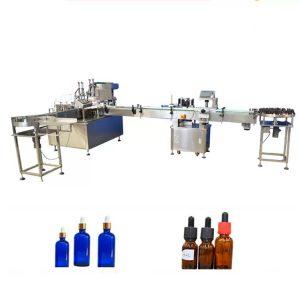 Machine de remplissage de bouteilles d'huile essentielle de contrôle de PLC