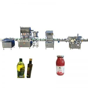Machine de remplissage d'huile essentielle de contrôle de PLC