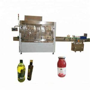 Machine de remplissage et de capsulage de bouteilles d'ANIMAL FAMILIER de contrôle de PLC