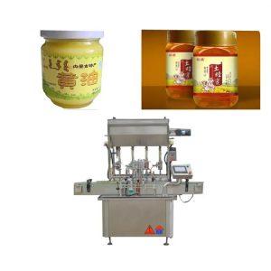 Machine de remplissage de bouteilles de pâte de sauce de contrôle PLC