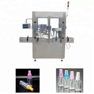Machine de remplissage de parfum de système de contrôle de PLC