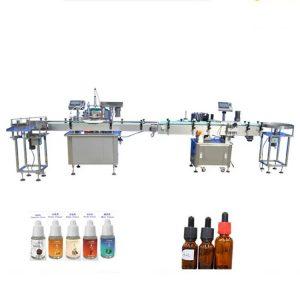 Machine de remplissage de parfum pour bouteilles en verre compte-gouttes