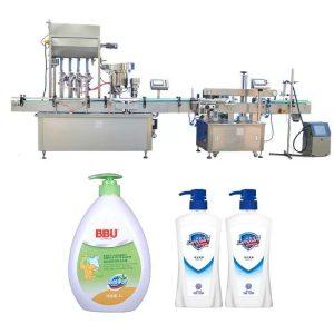 Machine de remplissage de bouteilles de confiture d'industries pharmaceutiques