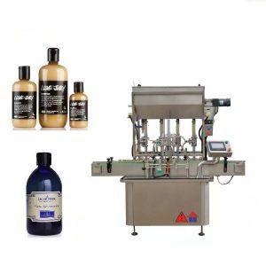 Machine de remplissage liquide pneumatique à 4 têtes pour le miel