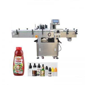 Machine d'emballage et d'étiquetage de produits ronds