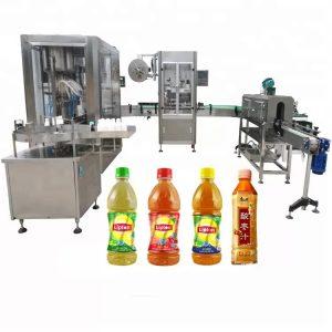Machine de remplissage liquide automatique de tête de capsulage de vis