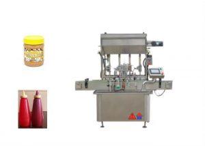 Machine de remplissage de bouteilles de pâte de sauce semi-liquide