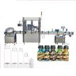 Machine de remplissage de bouteille de compte-gouttes de moteur servo, machine de capsulage de parfum de contrôle d'écran tactile