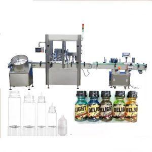 Machine de remplissage de bouteilles de compte-gouttes de moteur servo