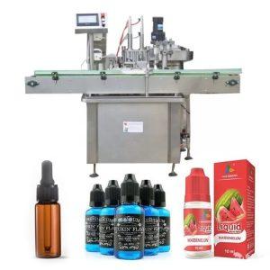 Machine de remplissage de bouteilles d'huile de contrôle de PLC de Siemens
