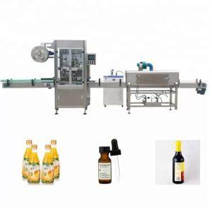 Machine d'étiquetage de bouteilles rétractables à manches