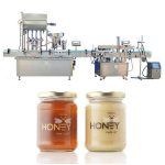 Machine de remplissage liquide automatique de piston inoxydable utilisée dans les industries pharmaceutiques / cosmétiques
