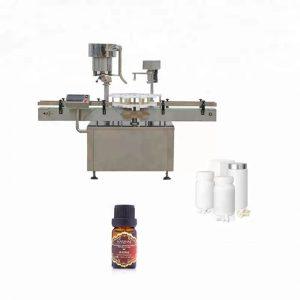 Machine de capsulage de bouteilles d'acier inoxydable utilisée en médecine