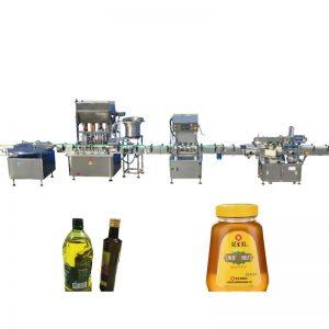 Machine de remplissage d'huile comestible de moteur pas à pas